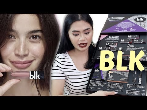 BLK COSMETICS Review + SWATCHES  Anna Cay ♥