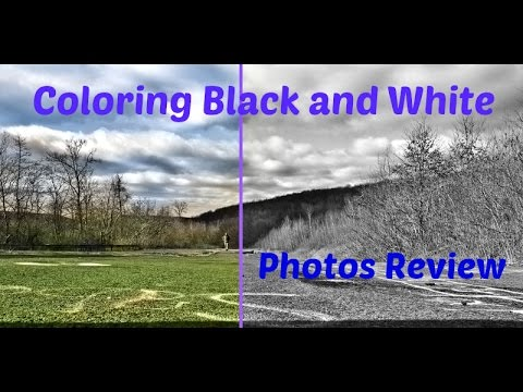 How to color black and white photos automatically algorithmia review youtube