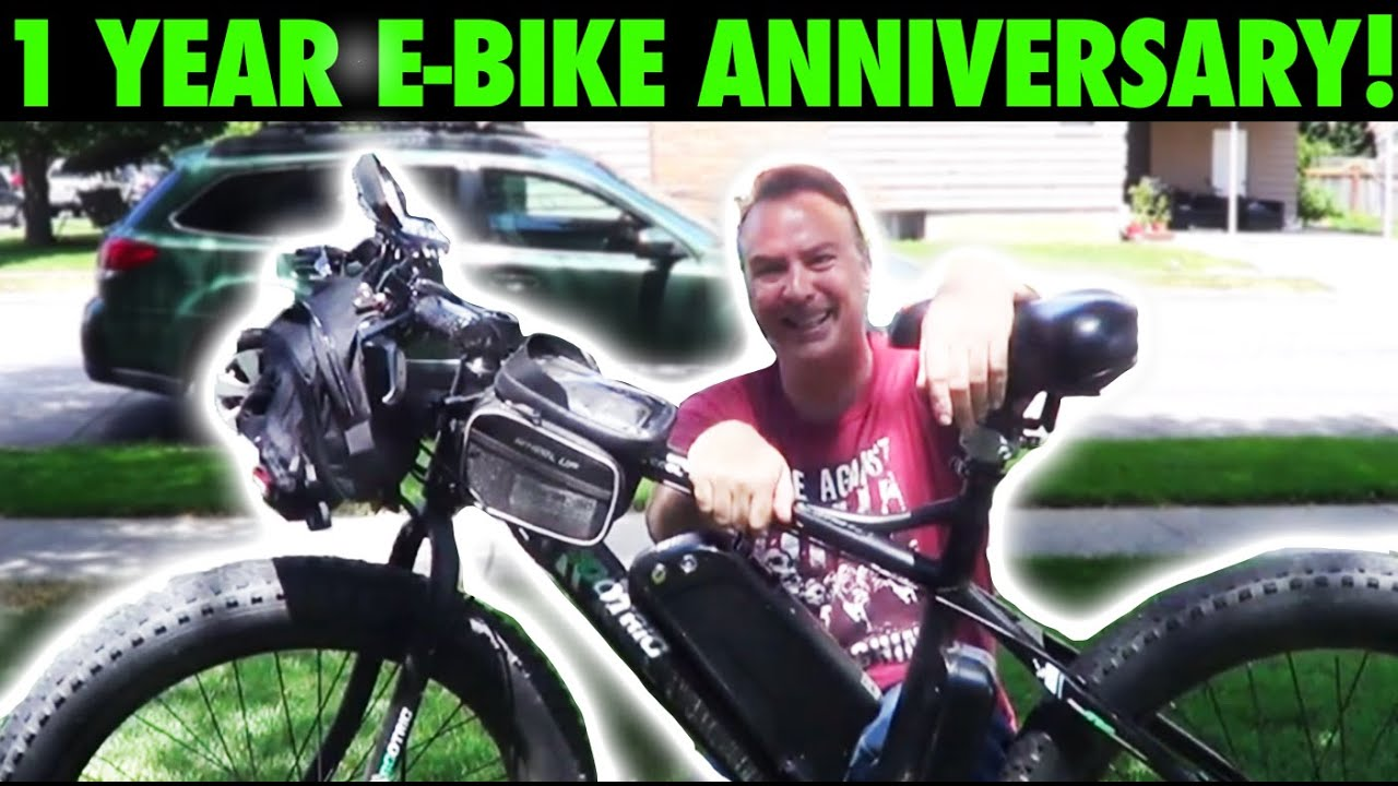 It's my eBike's Birthday!   1 Year of Fun & Excitement!   GreenMotion E-Bikes