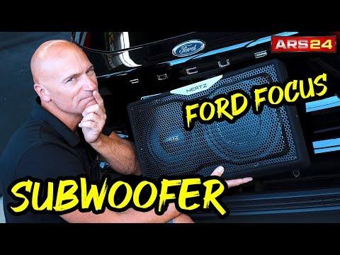 Ford Focus 2018 | Aktivwoofer vs. Passiver Subwoofer | Einbau-Tutorial | ARS24