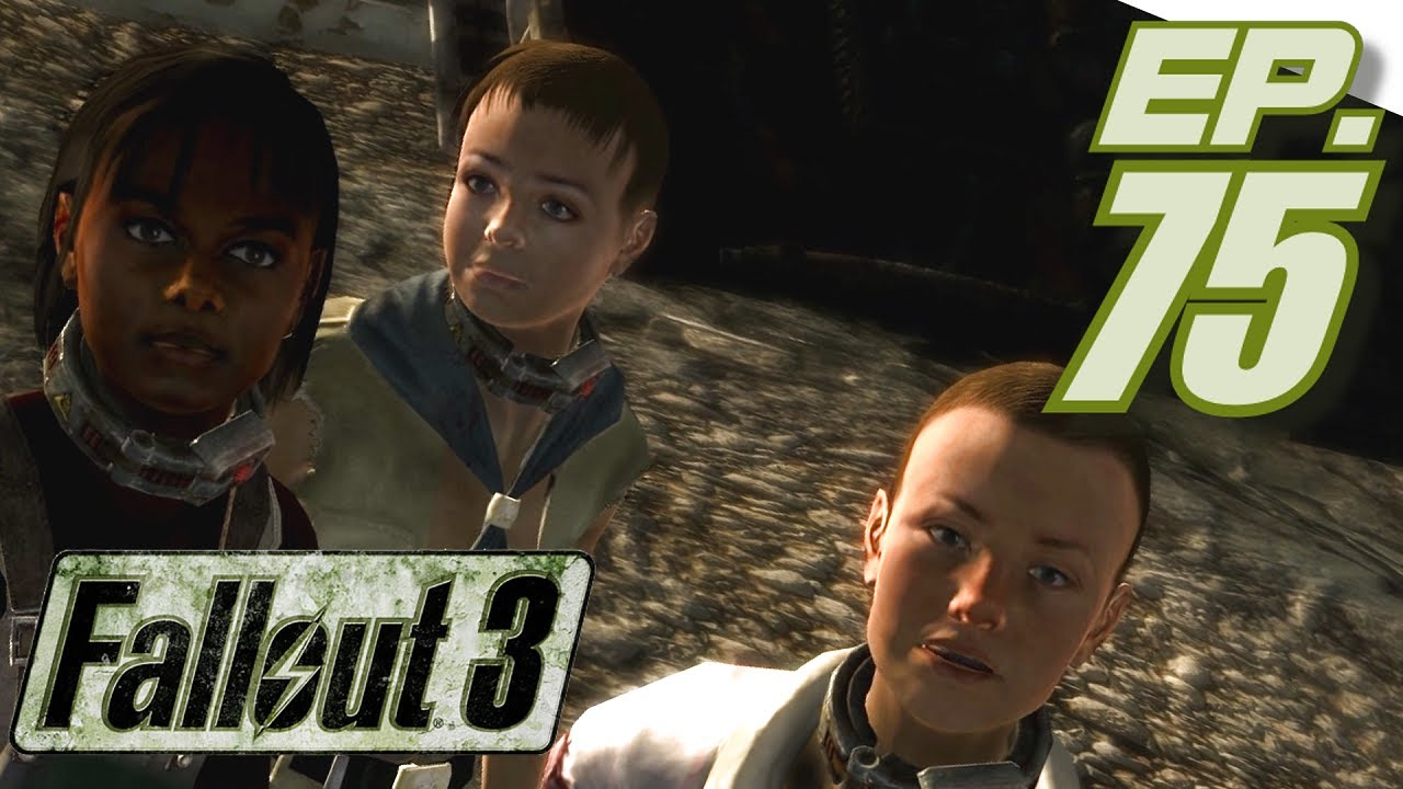 Fallout 3 GOTY Gameplay, Part 75: Cleansing Paradise Falls of Most Slavers  (in 1080p HD)