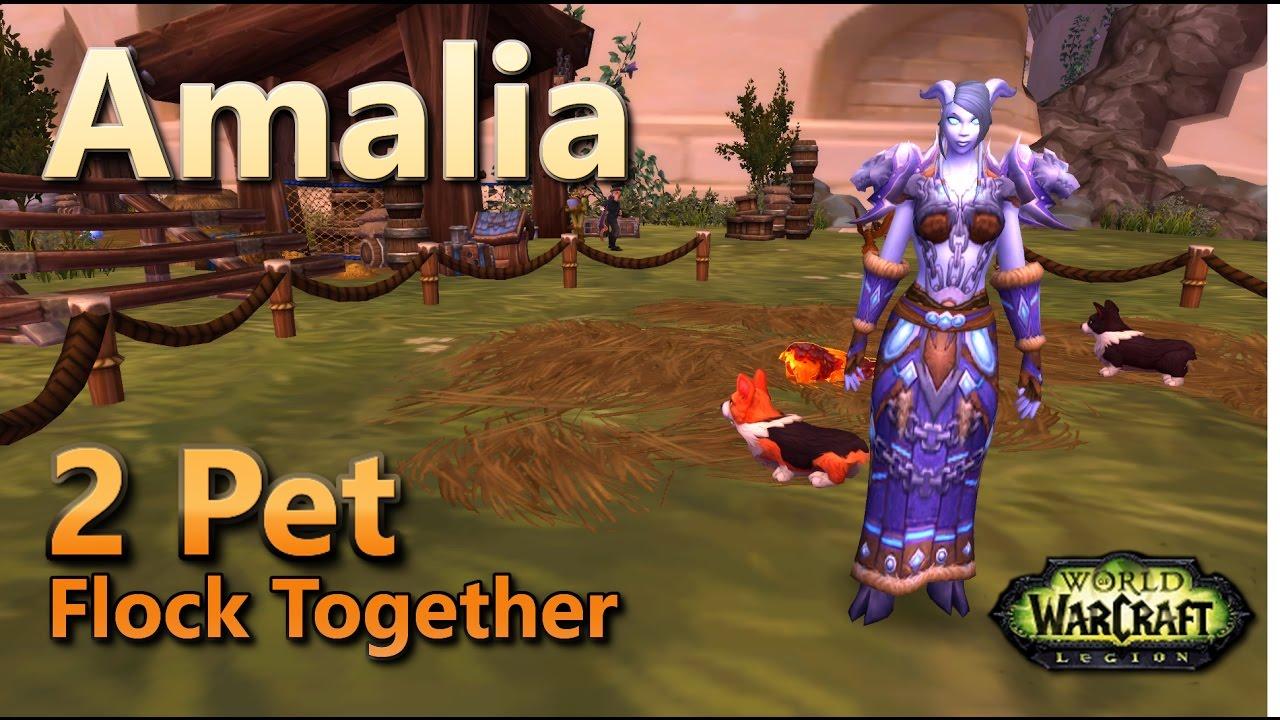 Amalia Flock Together Family Familiar Pet Battle World Quest