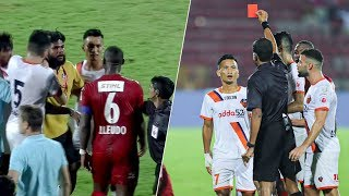 Tempers Flared As Doungel Sees Red - NorthEast United FC vs FC Goa | Hero ISL 2019-20