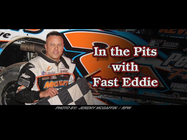 In the Pits with Fast Eddie Ronnie Johnson Victory Lane interview 6 21 19