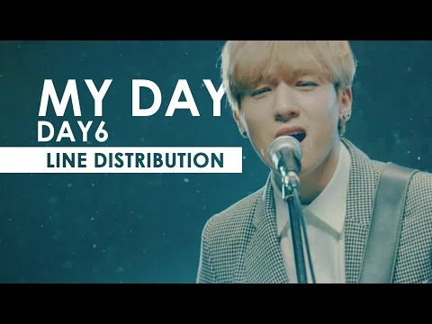 DAY6 - My Day | Line Distribution