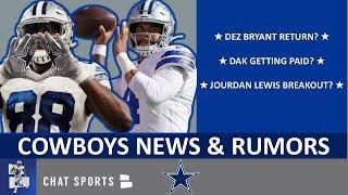 Cowboys Rumors On Dez Bryant, Dak Prescott Contract, Senior Bowl Draft Targets + Coaching Staff News