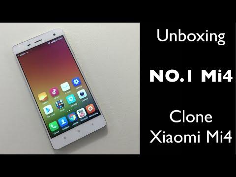 Unboxing NO 1 Mi4 - Buen Clone del Xiaomi Mi4 - Primeras Impresiones