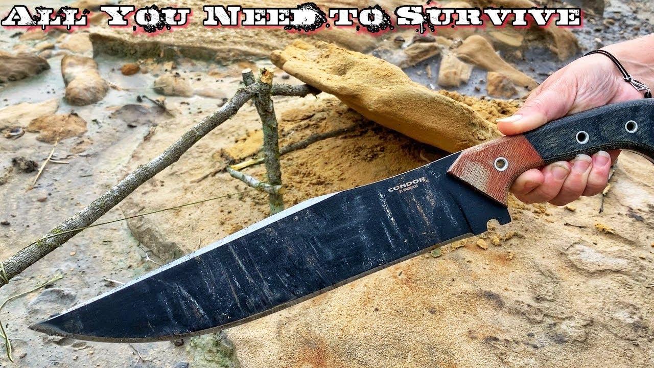 building-primitive-tools-w-just-a-knife-survival