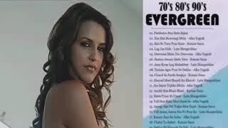 70's 80's 90's sadabahar purane gane!! Evergreen hit's /top Bollywood song