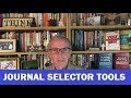 Using a Journal Selector Tool