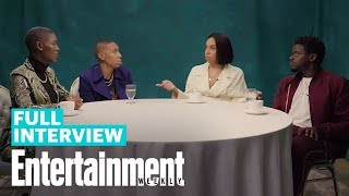 'Queen & Slim' Roundtable Interview With Lena Waithe, Daniel Kaluuya & More | Entertainment Weekly
