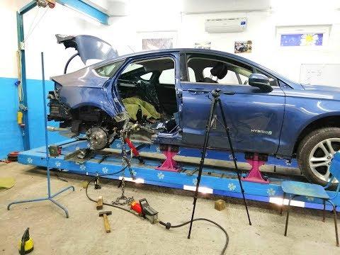 Ford Fusion Hybrid.  Замеры, перемеры. И одна легкая подтяжка.