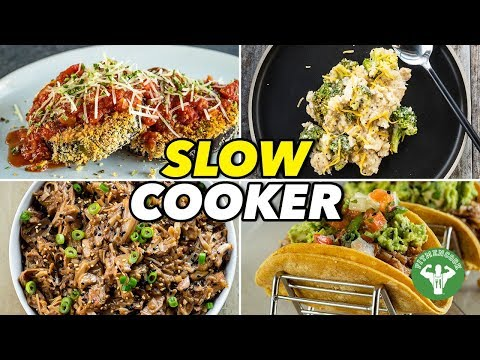 4 Easy Slow Cooker Recipes & Meals  / 4 Comidas En La Olla De Cocción Lenta