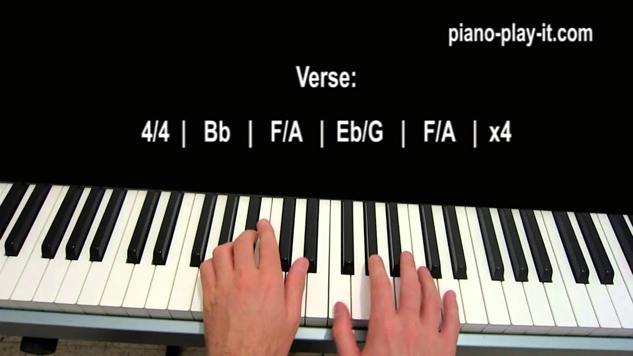 Where Are You Christmas Piano Tutorial Faith Hill - YouTube