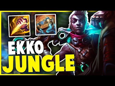 EKKO JUNGLE IN SEASON 9?? THIS WORKS AGAINST ALL THE BROKEN CHAMPS?? | League of Legends Gameplay