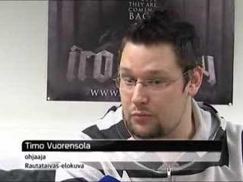 Iron Sky movie in Finnish news