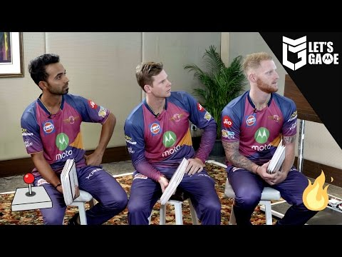 Steve Smith, Ajinkya Rahane and Ben Stokes Play Cards Against Humanity - Let's Game