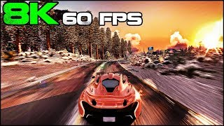 Trackmania 2 | Christmas Canyon 8K 60Fps(4320p60) True Graphics Gameplay