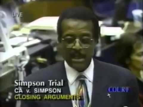 O.J. Simpson Trial Johnnie Cochran Closing Argument   Part 5