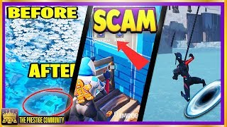 SCAMMERS GetS SCAMMED GLITCH, *NEW* TELEPORT Glitch, Wailing Woods Gets REMOVED?! (Fortnite Season 7