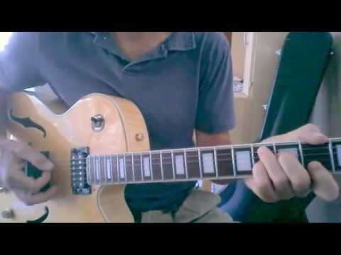 How to play Footprints. Minor Blues Jazz Guitar Lesson.