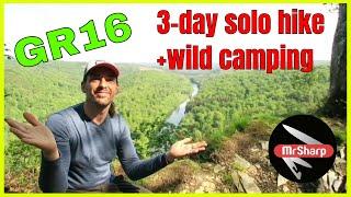 3 day Solo hike and wildcamps on GR16 sentier de la Semois (Florenville-Bouillon)