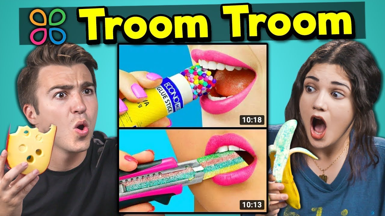 College Kids React To And Try 3 Troom Troom Crafts (Do They Work?)