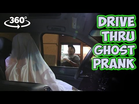 Drive Thru Ghost Prank in 360