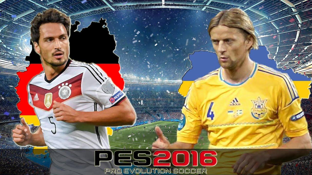 deutschland vs ukraine