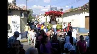 Desfile de La Virgen de La Candelaria en Cagua 2013
