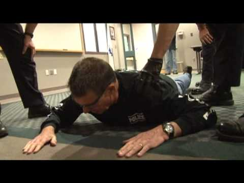 POLICE CHIEF GETS TASERED