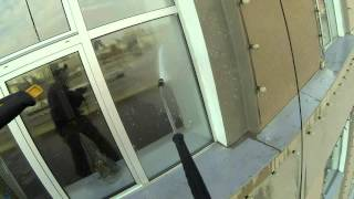 видео мойка фасадов