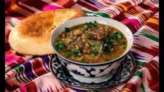 Машхурда (мясной суп с машем и рисом) с рецептом