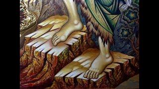 Урок по Написанию Косогоров на Иконе Пропись Твореным Золотом Поэтапное Письмо с Нуля Сумская Икона
