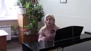 Уроки вокала от оперной певицы Ирины Украинец.Распевки для вокалистов
