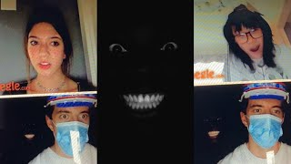 SOMEONE IS BEHIND YOU😰 Black man white teeth Omegle (Part 1)