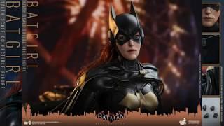 Batman Arkham Knight Hot Toys Batgirl 1/6 Scale Video Game Figure Reveal!