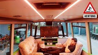 LED-Beleuchtung für den Bus | Dumm Tüch