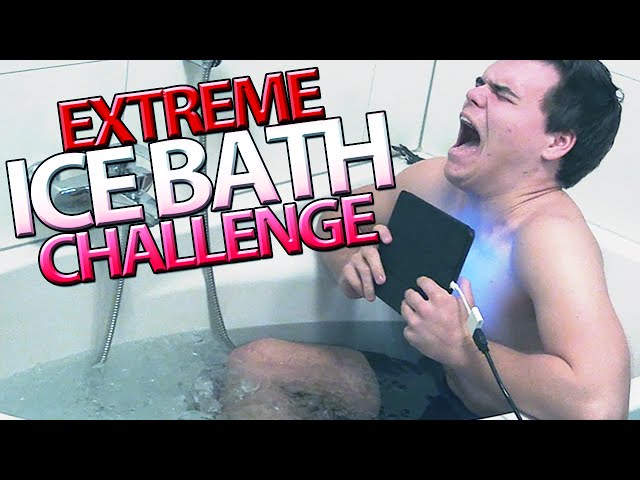 EXTREME ICE BATH CHALLENGE!