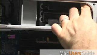 PowerMac G5 Dual 2.0 Upgrade: How to replace the hard drive
