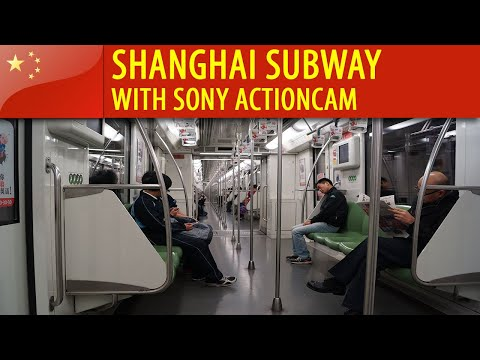 China - Shanghai Subway with Sony Actioncam