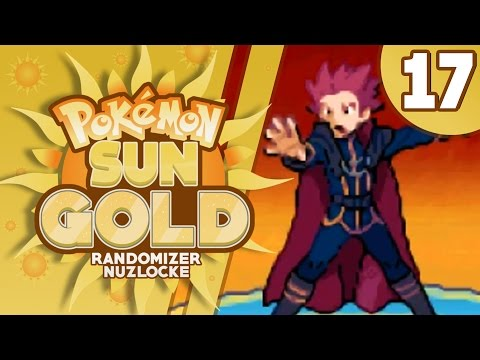 Pokemon Sun Gold ( Rom Hack ) Randomizer Nuzlocke Part 17 The Elite 4 & Champion