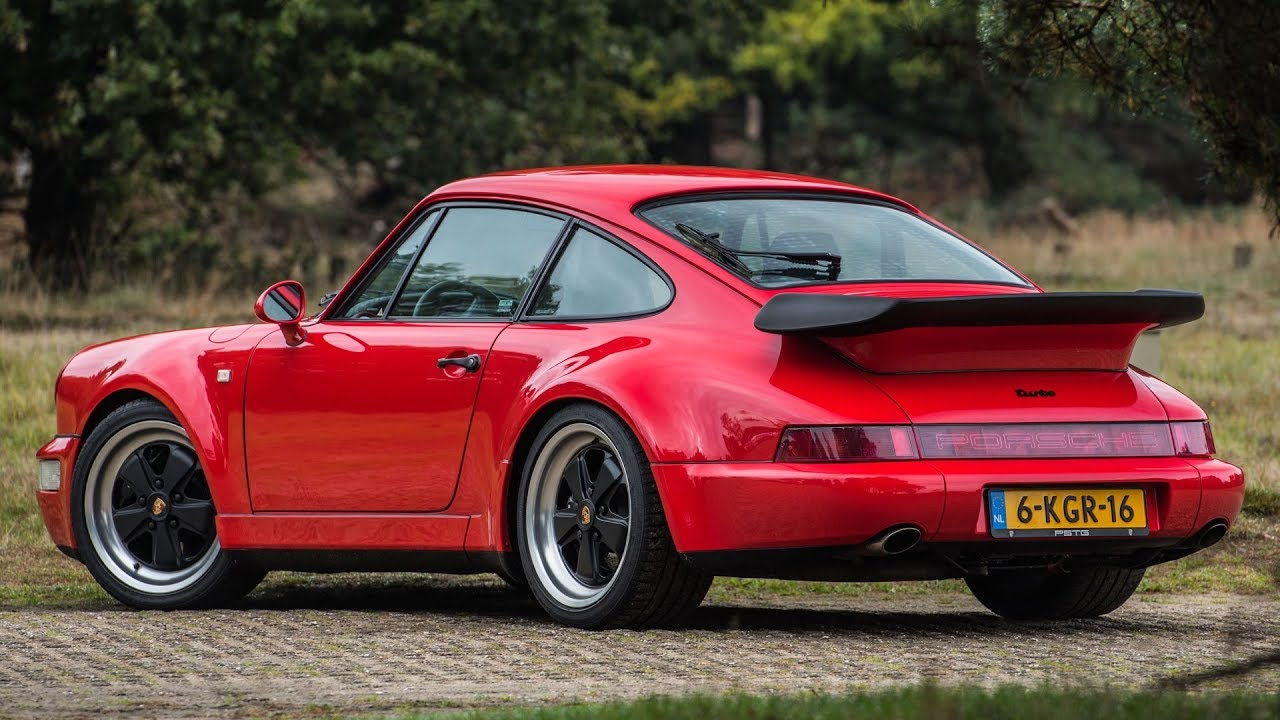 Porsche 964 965 33 Turbo Coupé