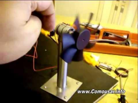 Como hacer un generador e lico casero muy f cil youtube for Como hacer un proyecto de comedor infantil