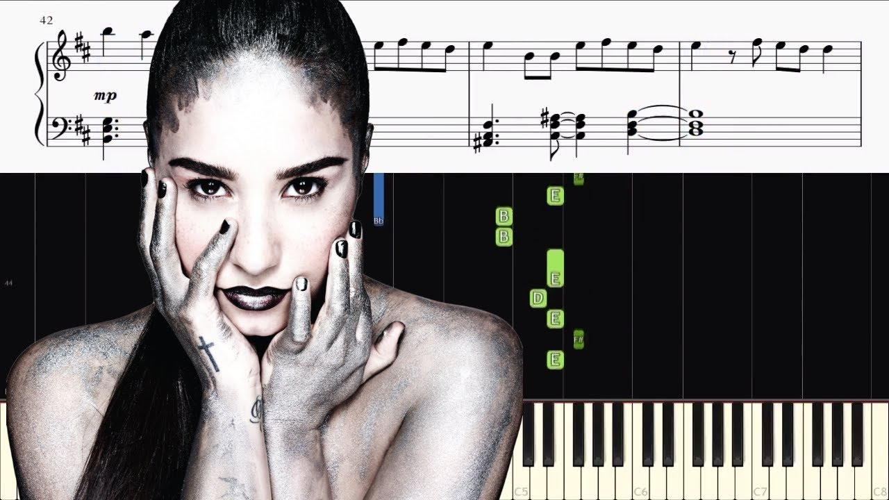 Demi lovato sorry not sorry piano tutorial youtube demi lovato sorry not sorry piano tutorial hexwebz Images