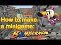 Minecraft - how to make the BOMBERMAN minigame!