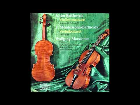Mendelssohn, Violin Concert Op 64, Marschner