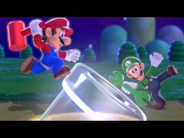 Super Mario 3D World Walkthrough - Part 1 - World 1