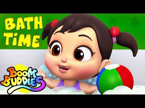 Bath Time Song   Nursery Rhymes Songs For Babies   Kids Songs