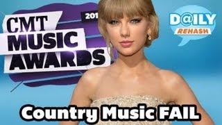 Country Music FAIL: CMT Awards 2013 | DAILY REHASH | Ora TV